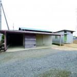 車庫及び倉庫(外観)