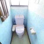 明るい1階トイレ(内装)
