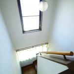 明るい階段(内装)