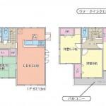 小山市土塔(犬塚) 4LDK+WIC新築戸建て!駐車4台可能!