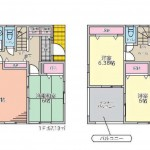 小山市駅南町 4LDK+WIC!駐車2台可能!新築分譲住宅全3棟【2号棟】